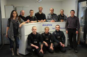 Das Fahrdynamic-Team im Januar 2017