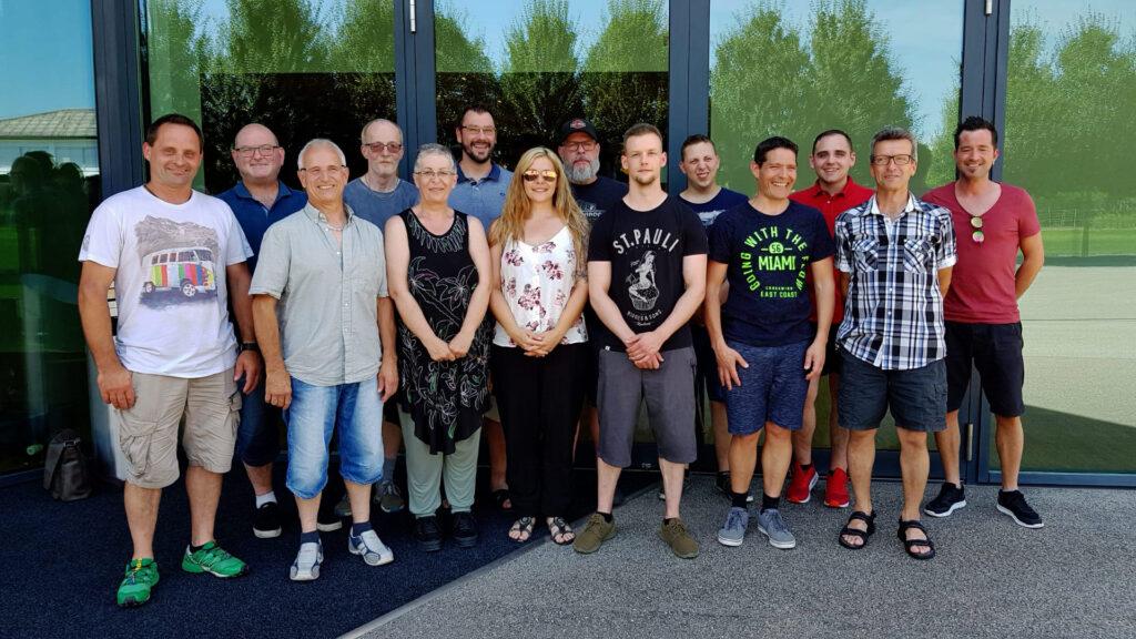 Teamfoto Fahrdynamic Automobile AG am Betriebsausflug 2019